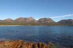 Que du bonheur sur la côte Est de la Tasmanie en stop